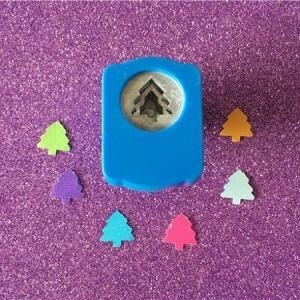 Mini perforatrice loisirs creatifs eugenie sapin 03