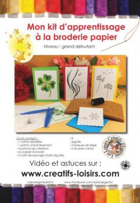Notice kit apprentissage broderie papier eugenie loisir creatif 1