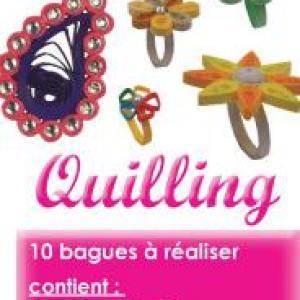 Notice quilling bague kit bijou papier modele facile loisir creatif eugenie