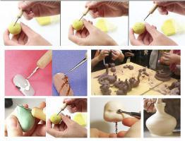 Outil boule embossage modelage sculpture ongle 09