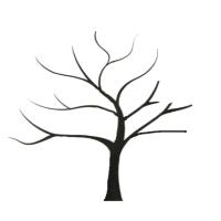 Patron arbre aux coeurs quilling 01 modeel facile debutant carte 1
