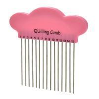 Peigne quilling avec oreilles outil loisir creatif 15 dents paperolles eugenie 05