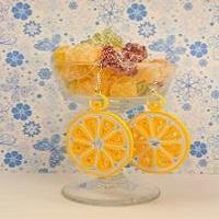 Quilling boucles d oreilles jaune citron bijoux quilled paperolle
