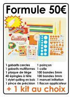Quilling papier roule paperolles livre manuel initiation outil materiel 50 diy loisirs creatifs eugenie lot