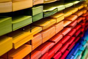 Stock carte enveloppe correspondance voeux couleur loisir creatif scrap quilling broderie 3d