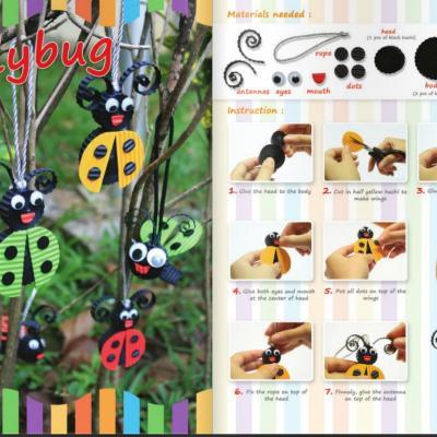 Tuto coccinelle carton ondule loisirs creatifs page 001