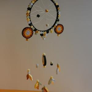 Tutoriel quilling papier roule attrape reves loisirs creatifs d eugenie