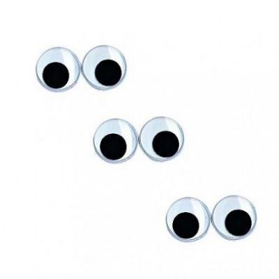 Yeux mobiles 6 mm